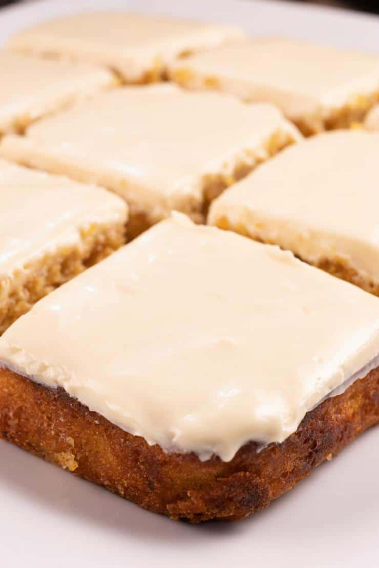 Easy Mini Carrot Cake Squares