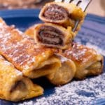 Easy French Toast – Best Homemade Nutella French Toast Roll Ups Recipe – {Easy} Breakfast – Dinner – Snacks – Desserts – Quick – Simple