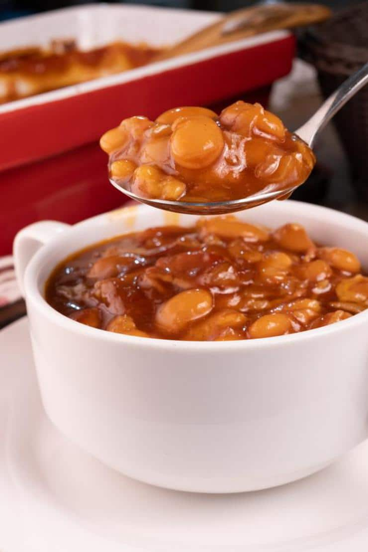 Easy Bacon Brown Sugar Baked Beans