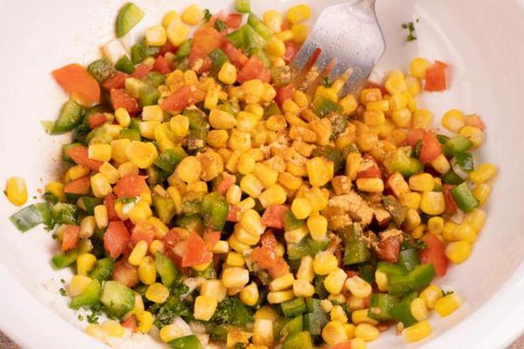 Easy Cajun Corn Salad