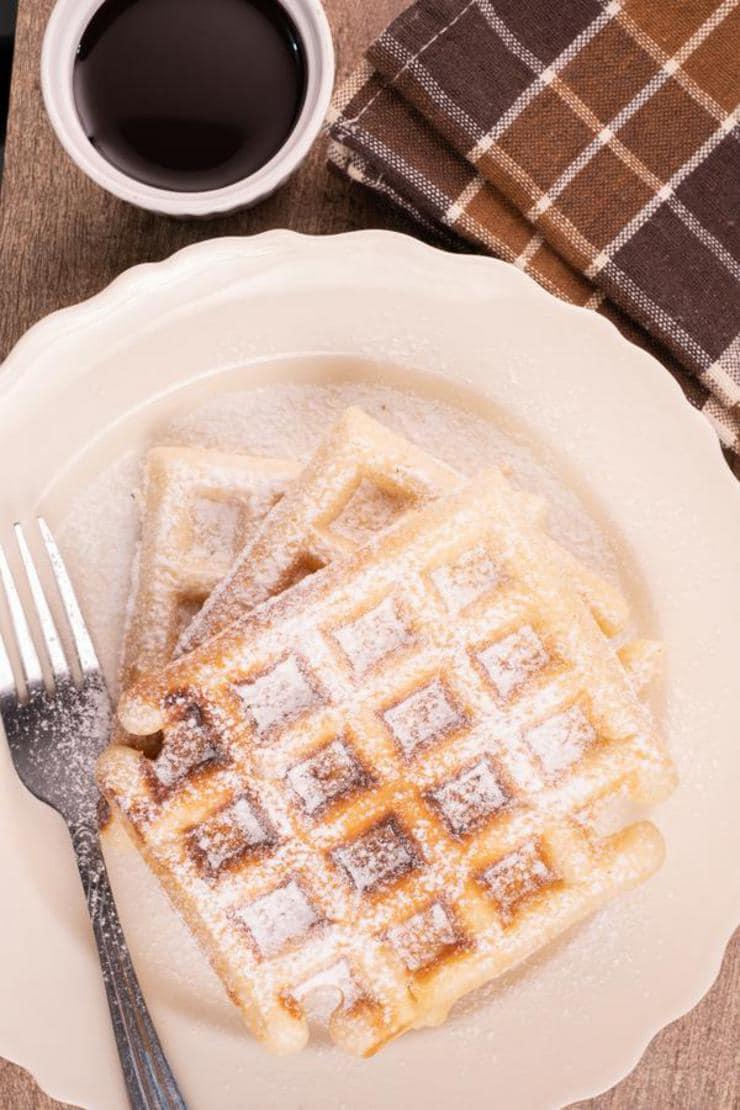 Easy Churro Waffles