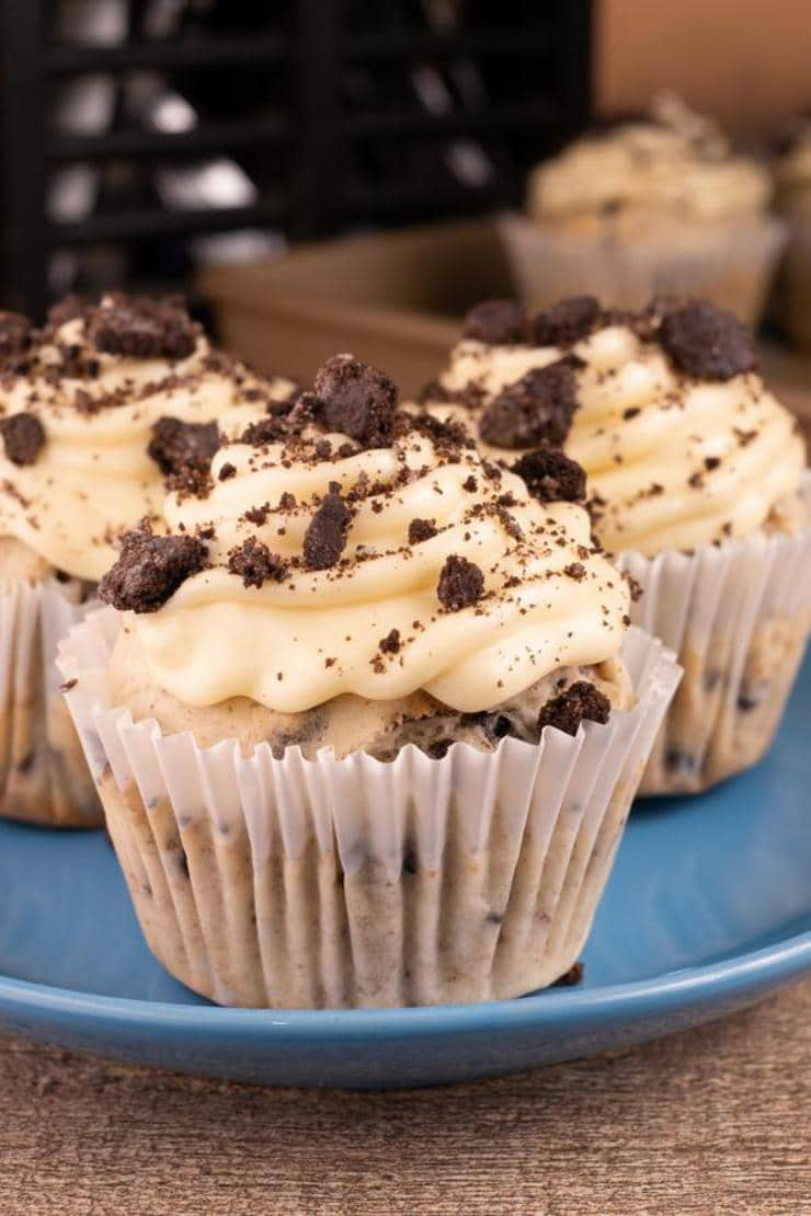 Easy Cookies And Cream Cupcakes