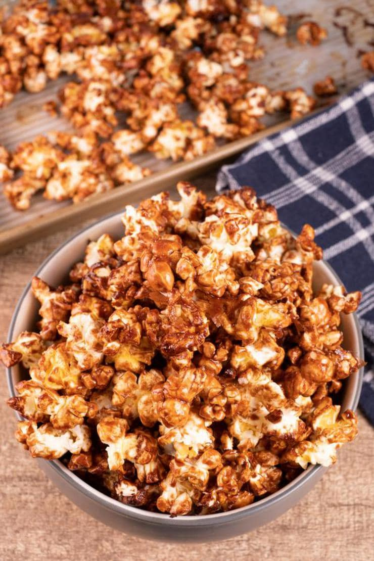 Nutella Popcorn – EASY – Quick – Simple Nutella Glazed Popcorn Recipe – BEST Homemade Microwave Popcorn – How To Make – Quick – Desserts – Snacks – Party Food