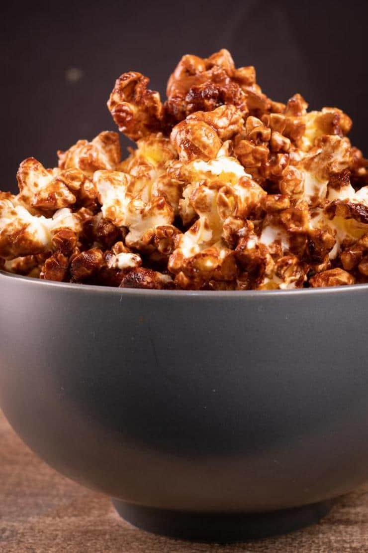 Easy Nutella Glazed Popcorn