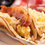 {Easy} Pancakes – Best Homemade Pancake Breakfast Tacos Recipe – Breakfast – Party Food – Quick – Simple