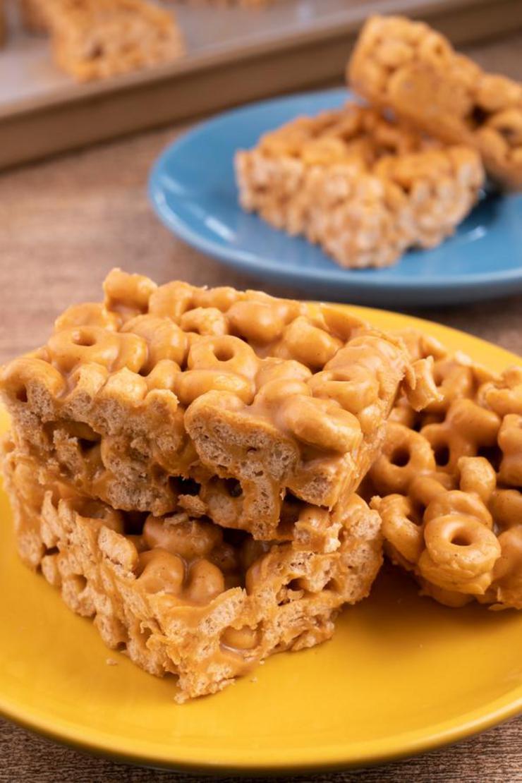 Easy Peanut Butter Cheerio Bars