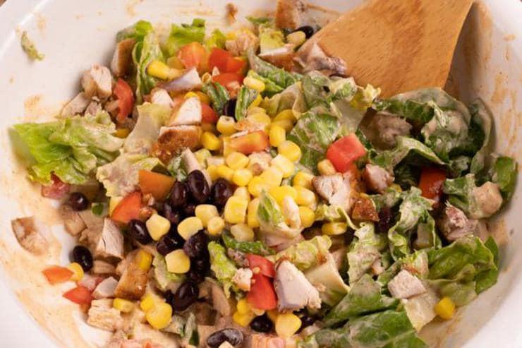 Easy Tex Mex Chicken Chopped Salad