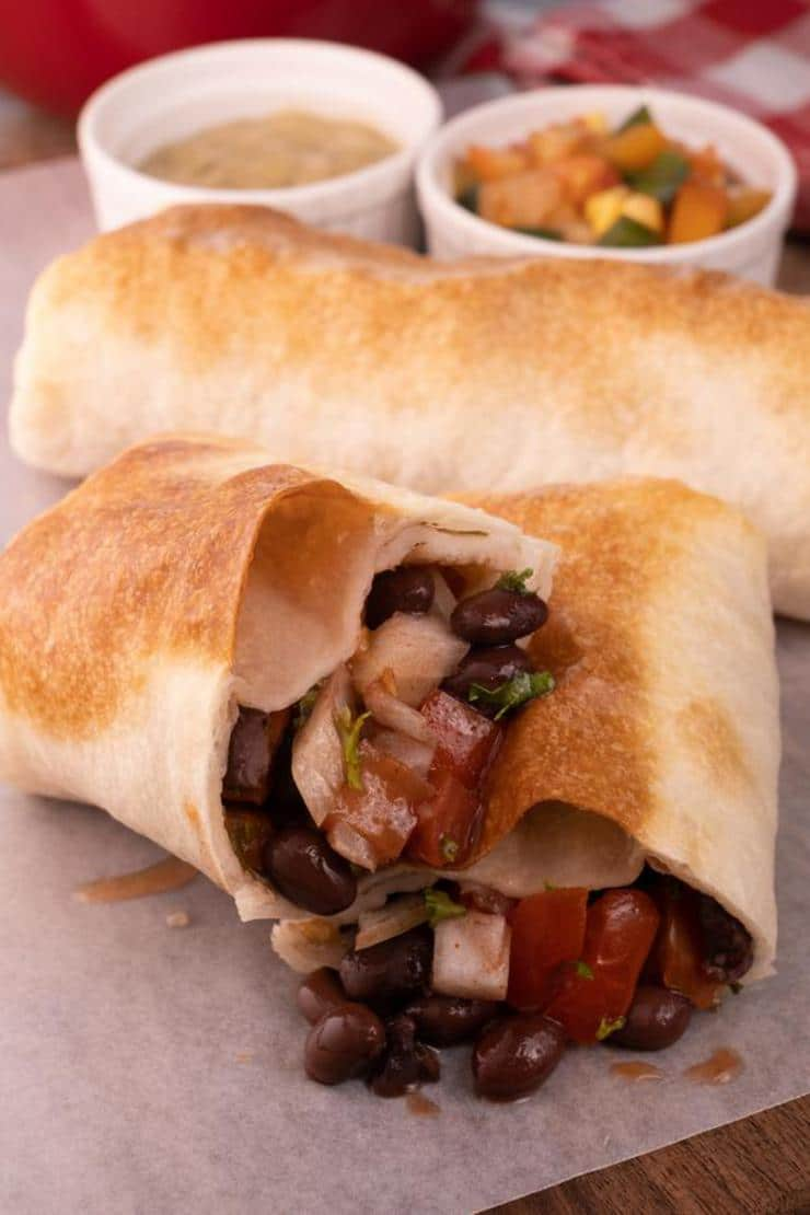 Easy Baked Black Bean Taquitos – Best Homemade Taquitos Recipe – Snacks – Lunch – Dinner – Kids Party Food – Quick – Simple