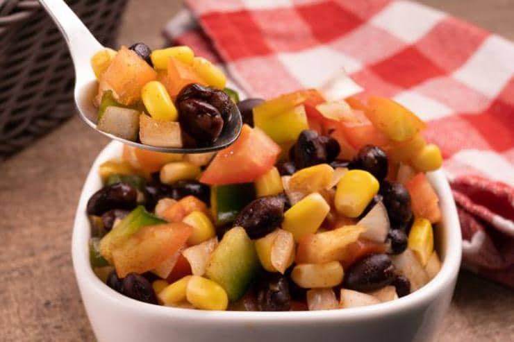 Easy Black Bean Corn Salsa