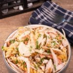 Easy Pasta Salad – Best Homemade Chicken Fajita Pasta Salad Recipe – {Easy} Lunch – Dinner – Snacks – Side Dishes – Quick – Simple