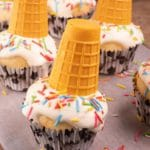 Easy Cupcakes – Best Melting Ice Cream Cone Cupcake Recipe – Desserts – Snacks – Kids Party Food