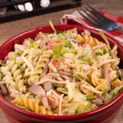 Easy Pasta Salad – Best Homemade Taco Pasta Salad Recipe – {Easy} Lunch – Dinner – Snacks – Side Dishes
