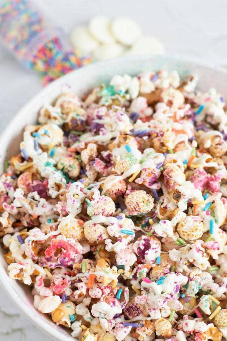 Unicorn Popcorn Party Food