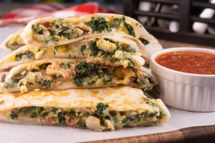 Easy Breakfast Quesadilla