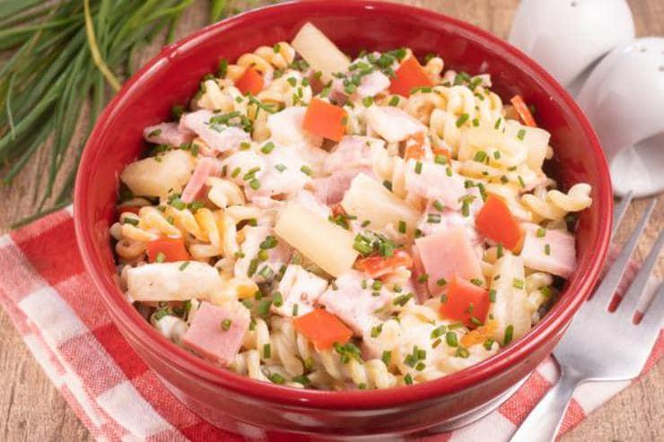 Easy Hawaiian Pasta Salad