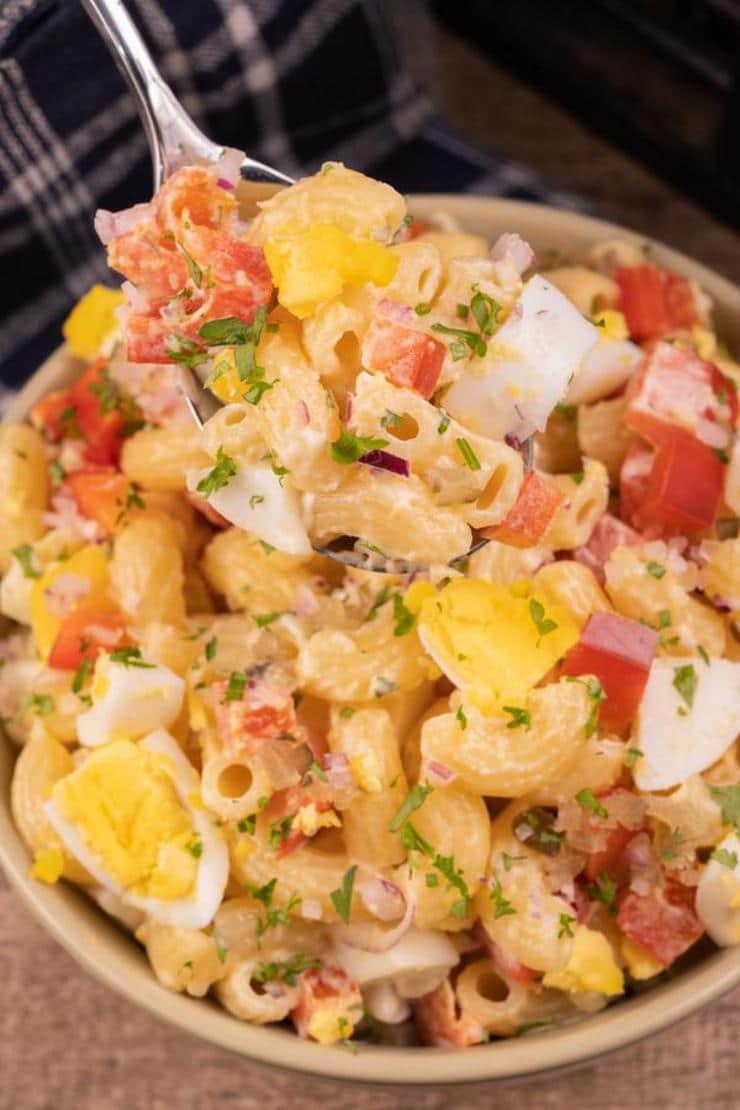 Easy Macaroni Pasta Salad