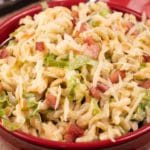 Easy Pasta Salad – Best Homemade Bacon Ranch Pasta Salad Recipe – {Easy} Lunch – Dinner – Snacks – Side Dishes