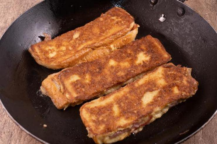 Easy Bacon Stuffed French Toast Sticks