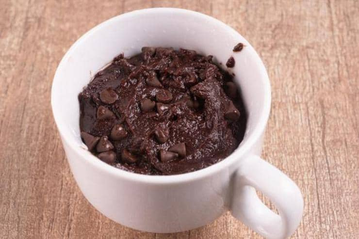Easy Brownie Ala Mode Mug Cake