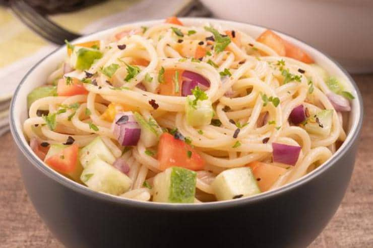 Easy California Spaghetti Salad