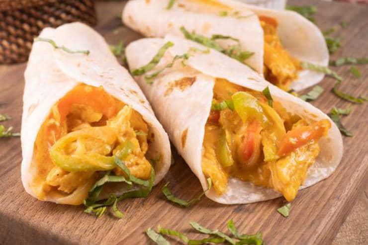 Easy Chicken Nacho Cheese Wraps