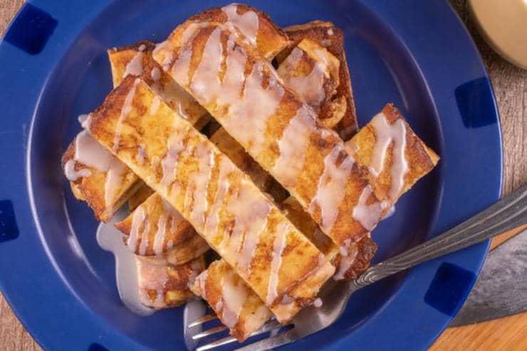 Easy Cinnamon Roll French Toast Sticks