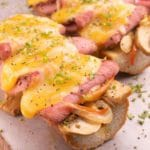 Easy Cheesesteak – Best Homemade French Bread Garlic Philly Cheesesteak Recipe – Lunch – Dinner – Side Dish – Appetizers – Party Food