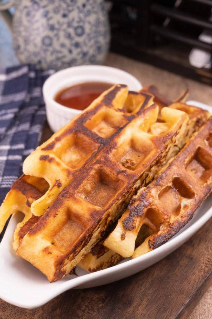 Best French Toast – Homemade French Toast Waffle Sticks Recipe – {Easy} Breakfast – Snacks – Desserts – Party Food – Quick – Simple