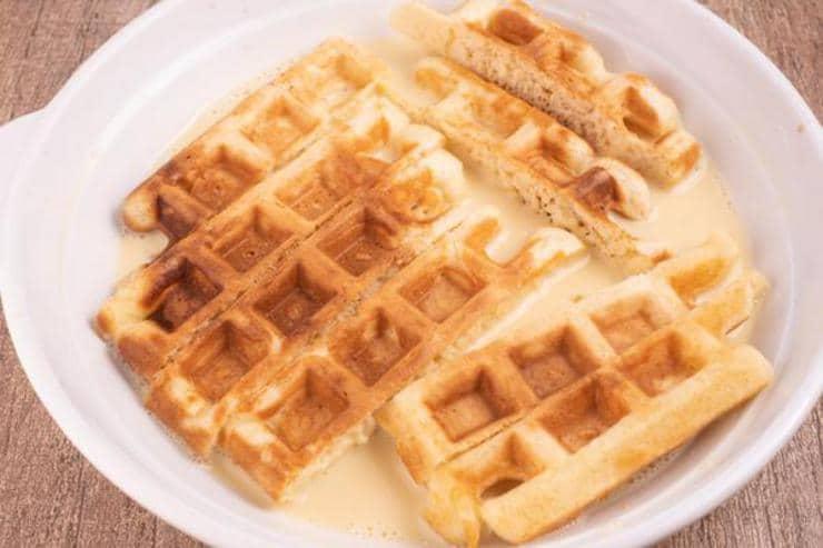 Easy French Toast Waffle Sticks