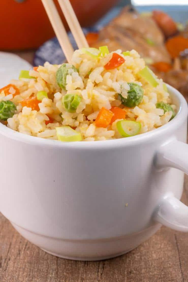 Easy Fried Rice In A Mug