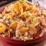 Easy Pasta Salad – Best Homemade Fritos Bacon Ranch Pasta Salad Recipe – {Easy} Lunch – Dinner – Snacks – Side Dishes