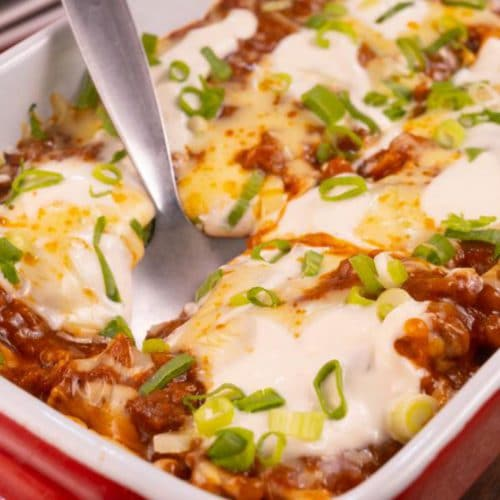 Easy Taco Lasagna – Best Homemade Mexican Taco Lasagna Casserole Recipe – Lunch – Dinner – Side Dish – Quick – Simple