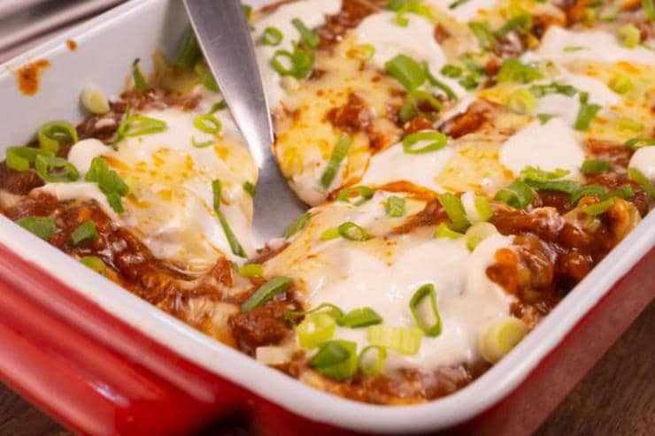 Easy Mexican Taco Lasagna