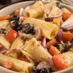 Easy Pasta Salad – Best Homemade Pesto Pasta Salad Recipe – {Easy} Lunch – Dinner – Snacks – Side Dishes