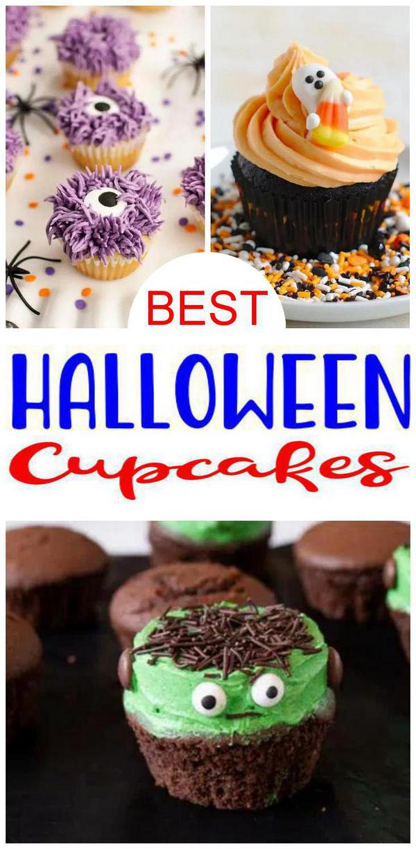 10 Halloween Cupcake Recipes You Won't Want To Pass Up