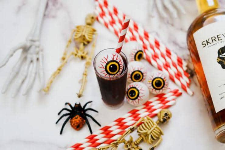 Alcohol Drinks Creepy Monster Eye Shots