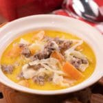 Easy Crockpot Cheeseburger Soup – Best Homemade Soup Recipe – Slow Cooker Dinner – Comfort Food – Quick – Simple