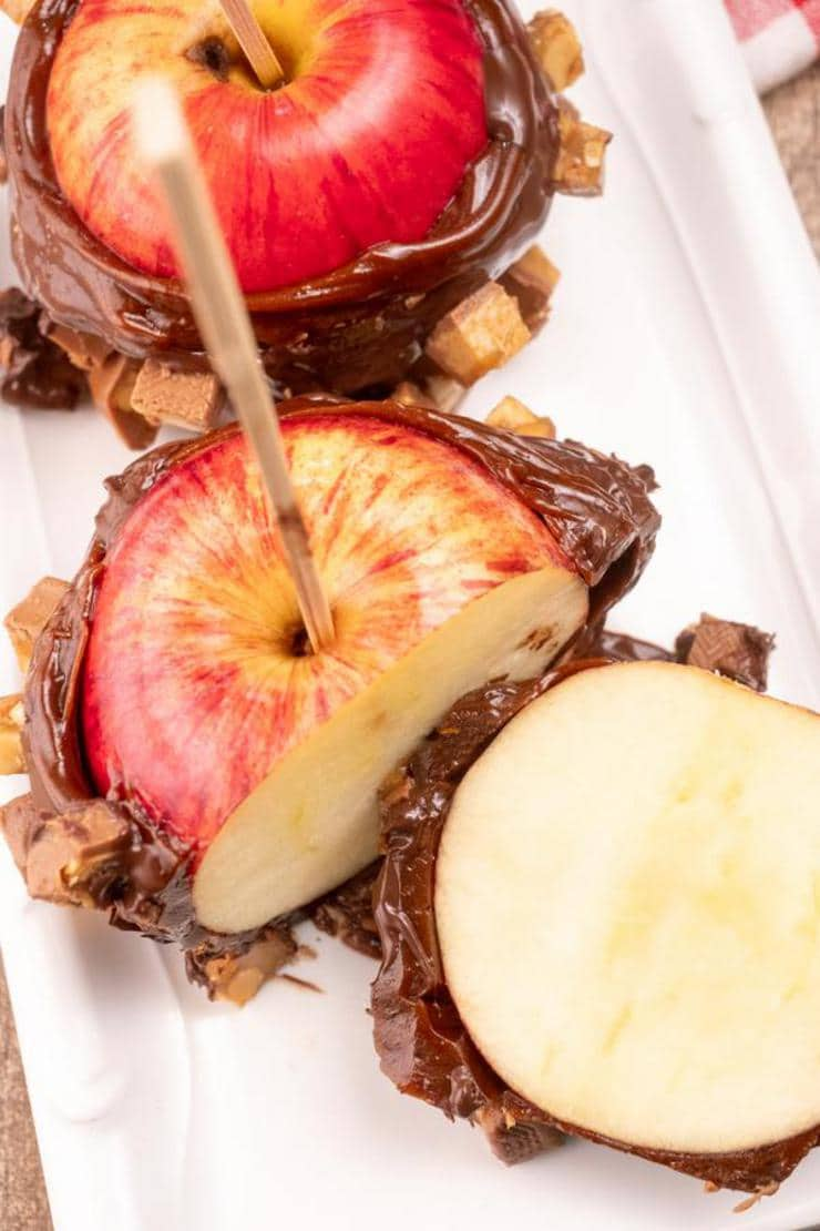 Snickers Caramel Apples